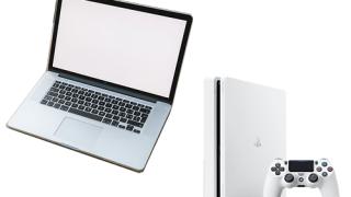 パソコンとPS4