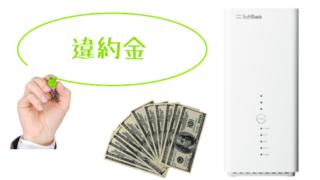 違約金のイメージ