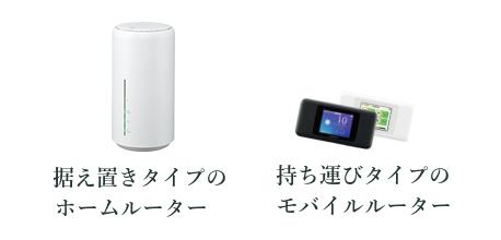 WiMAXの2機種